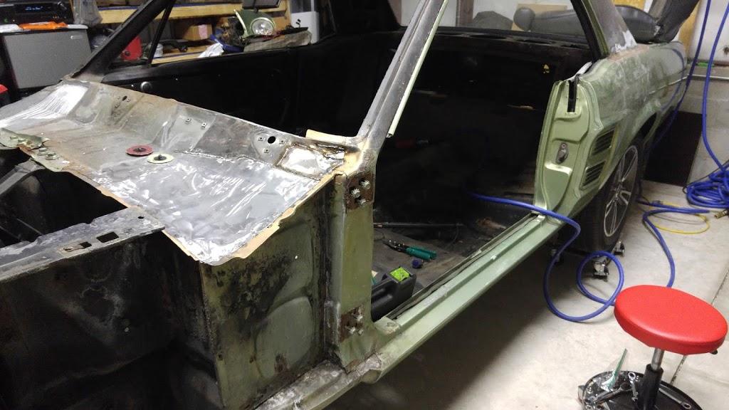More floor pan carnage!